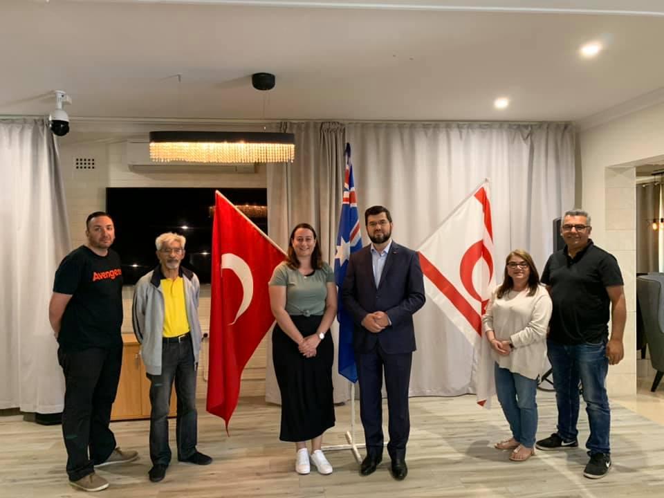 NSW Kuzey Kıbrıs Türk Derneğinin misafiri olduk
