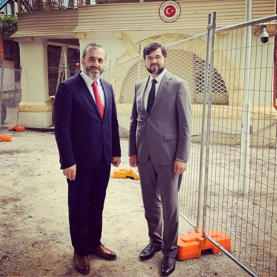 Yurtdışı Türkler Daire Başkanımız Suat Okuyan hocamızın Sidney ziyareti